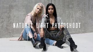 Natural Light Fashion Photography (Narrated with camera settings and lighting notes)