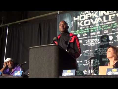 Bernard Hopkins Vs Sergey Kovalev POST FIGHT PRESS CONFERENCE