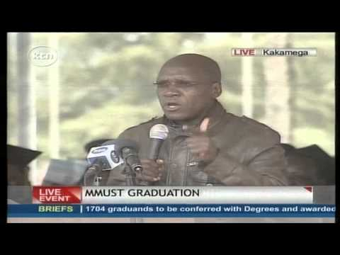 Senator Bonnie Khalwale gives President Uhuru Kenyatta another round of lecture over Referendum
