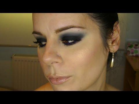 Look Ahumado Negro y Azul