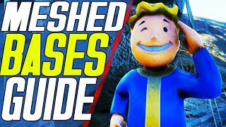 HOW TO MESH IN FALLOUT 76 | NEVER LOSE YOUR BASE AGAIN! | FALLOUT 76 MESH EXPLOIT
