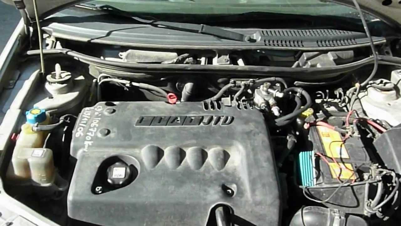 cold start car fiat punto ii 1 9 jtd 85 motor 2002 at 18 c engine diesel gasoil d marrage. Black Bedroom Furniture Sets. Home Design Ideas