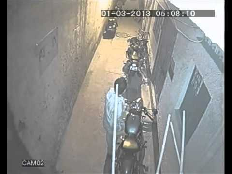 ROYAL ENFIELD THEFT IN SOUTH DELHI AT 05;00 AM MORNING.