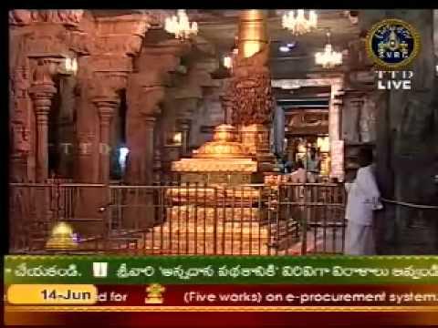 Tirumala Suprabhatha Seva (suprabhatham) video