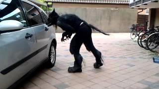 NPC Low Budget Werewolf Costume