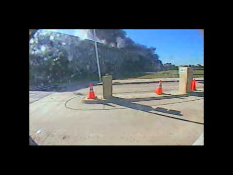 9/11 Pentagon Attack Video Gate Camera 2