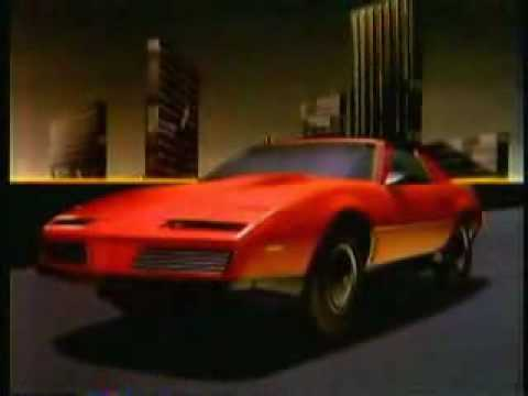 1982. Pontiac Firebird Commercial