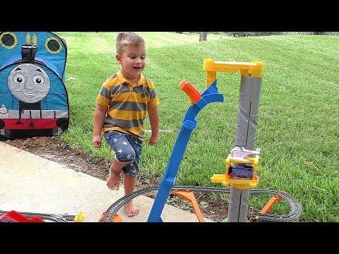 Томас и Его Друзья Паровозик Томас Видео Для Детей Trains Toys Thomas and Friends Video for Kids