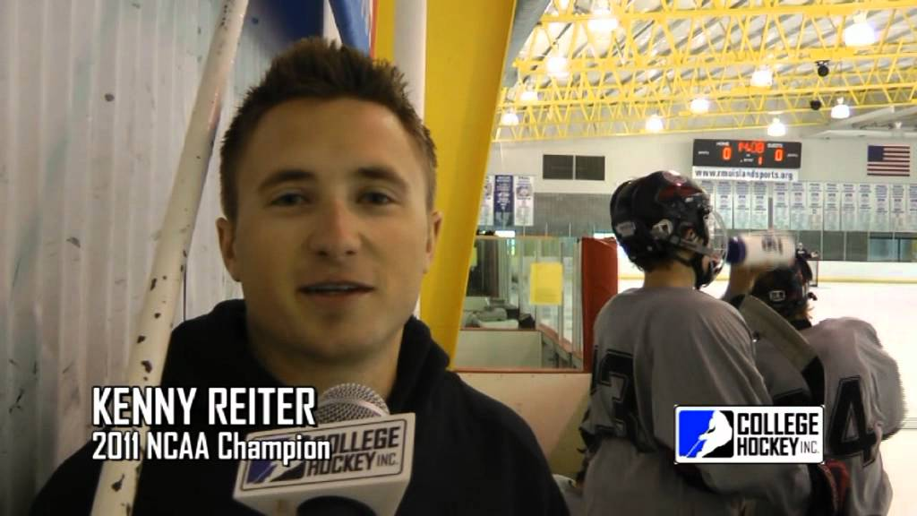 Kenny Reiter on College Hockey - YouTube