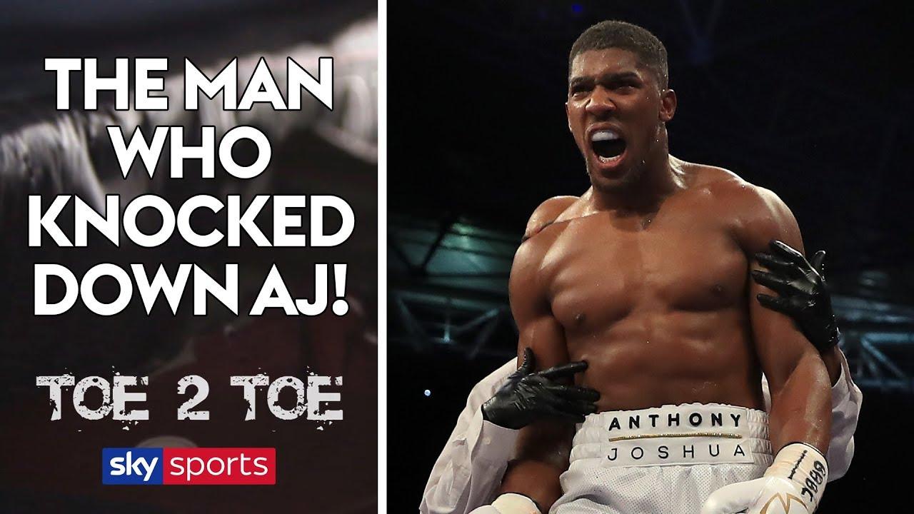 The man who knocked down Anthony Joshua! | Toe 2 Toe