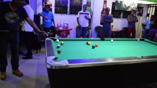 Guyana Pool Players Association Randy vs Bash Makeson King of the Cue Tournament