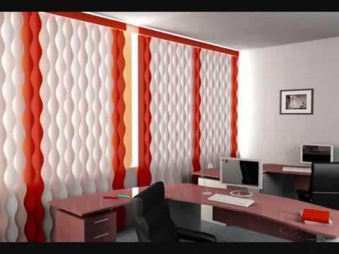 Cortinas verticales youtube for Cortinas verticales precio