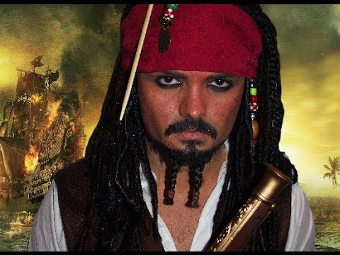 Jack Sparrow - Pirates Of The Caribbean - Makeup Tutorial! video