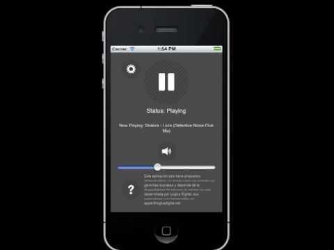 App para Emisoras de Radio