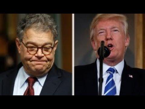 Franken scandal raises questions about Trump's past conduct