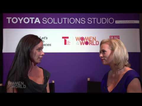 Barbara Bush: Toyota Solutions Studio