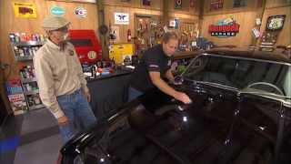 Porter Cable Removes Swirls on Black 1963 Studebaker Avanti with Dennis Gage and Mike Phillips