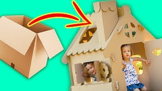 12 CREATIVE WAYS TO USE CARDBOARD BOXES