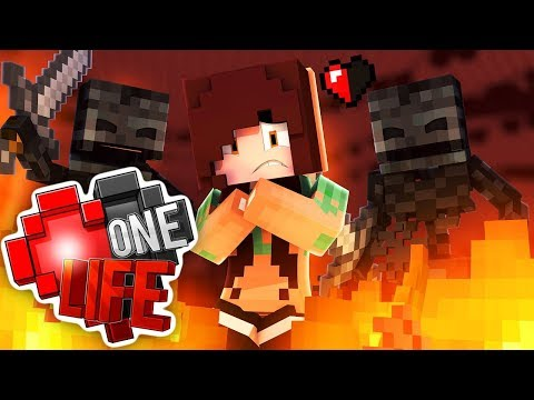 I WENT BACK INTO THE NETHER??   One Life #12