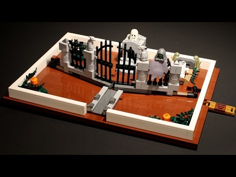 Tales from the LEGO Crypt Pop-Up Book