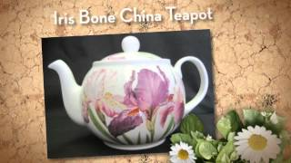 the development of tea ware in china and england