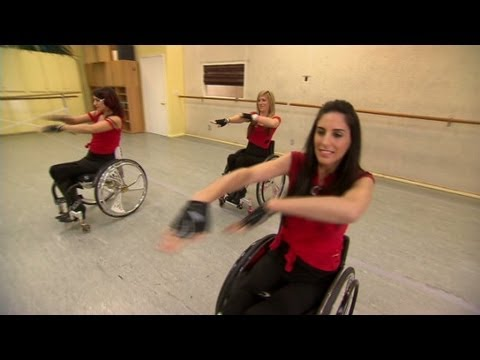 Women in wheelchairs push boundaries