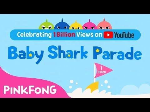 download lagu Celebrating 1 Billion Views On Youtube Baby Shark Parade gratis
