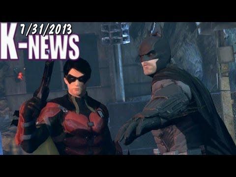 K-News - Robin Arkham Origins & Nintendo Wii U sales drop