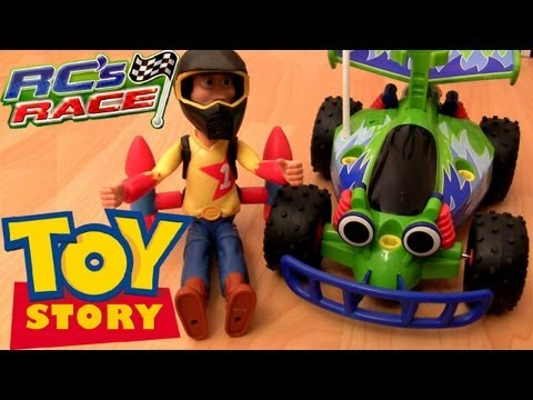 Woody with Turbo Rockets RC Car Gear Gas and Go