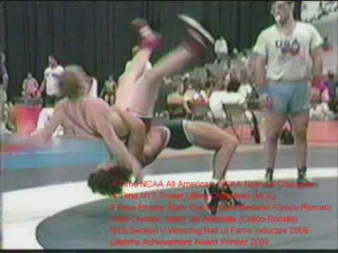 Fritz Zagorski Greco Roman Wrestling 5 point throws part 1 Image 1