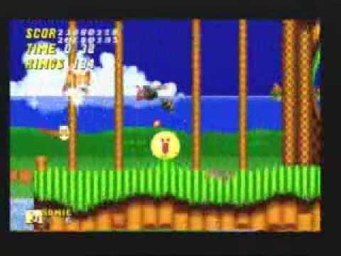 Sonic 2 - Super Sonic & Super Tails