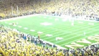 Michigan v Notre Dame 9-10-11, LIGHTS OUT!