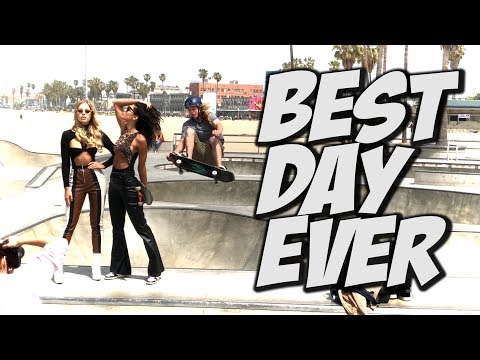 BEST SKATE DAY EVER !!! Feat  ANDY ANDERSON & VINNIE BANH   NKA VIDS