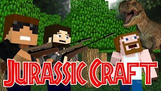 "Clever Girl!! ""Jurassic World"" Ep.3 ""Jurassic Craft Roleplay"""