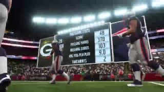 Madden 19 Patriots vs Packers 2018-2019