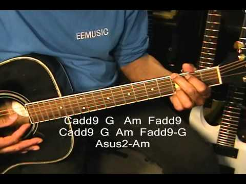 Richard Marx Right Here Waiting Guitar Lesson Tutorial Ericblackmonmusic video