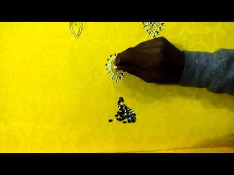 my shop and punjabi suit hand work design