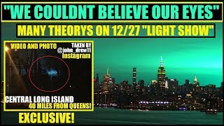 """""""WE COULDN'T BELIEVE OUR EYES"""" -PANIC AS NYC """"ELECTRIC ARC"""" Had Many cinvinced ALIENS"""