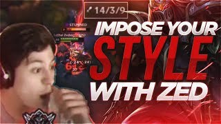 LL STYLISH | IMPOSE YOUR STYLE WITH ZED