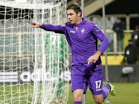 Fiorentina vs Milan 2-1 16/03/2015 GOAL Joaquin