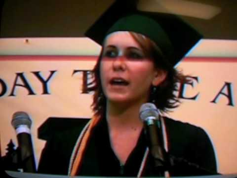 Evergreen High School 2008 Graduation Speech by Molly Chew,