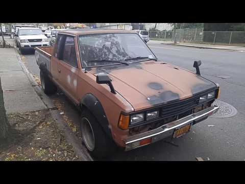 1982 Datsun King Cab Pick up