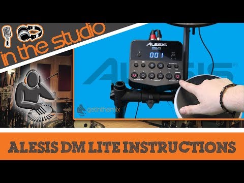 Alesis DM Lite Features and Instructional Guide