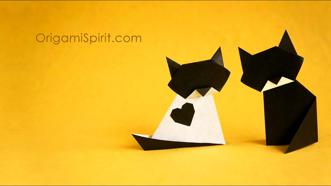 Origami Cat How To