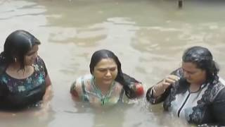 tollywood actress hema a holy bath in rever