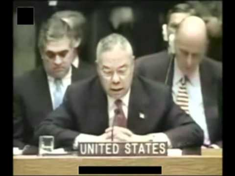 General Colin Powell UN Speech on Iraq Part 3of5