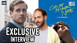 Luca Guadagnino - Call Me By Your Name Exclusive Interview