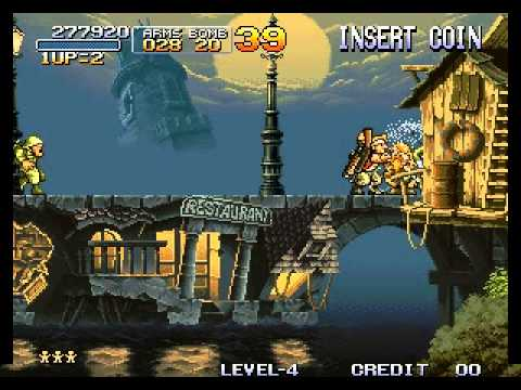 Metal Slug - Super Vehicle-001 - Metal Slug - Mission 2 Perfect Run - User video