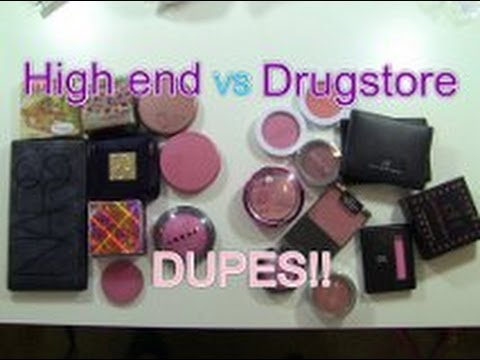 Blush Dupes!! Drugstore alternatives to Highend Blushes!
