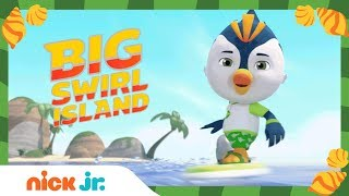 Welcome to Big Swirl Island!! 🏝️ | Watch Top Wing FULL Episodes | Nick Jr.